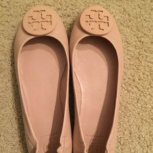 7419e2fe9 Tory Burch Shoes - Tory Burch 7 Minnie NIB Nude Color (Goan Sand)